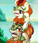 autumn_blaze highres kirin mandy1412 screencap_redraw