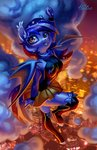 anthro bat_pony highres holivi original_character