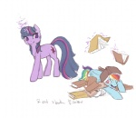 book magic noel rainbow_dash twilight_sparkle
