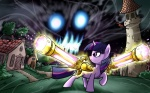 madmax twilight_sparkle wallpaper weapon