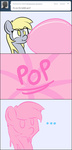adamscage ask comic derpy_hooves derpyhooves-answers gum