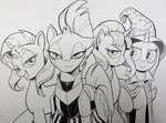 andy_price highres starlight_glimmer sunset_shimmer tempest_shadow the_great_and_powerful_trixie traditional_art