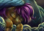 rainbow_dash scootaffection scootaloo sleeping viwrastupr