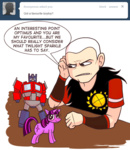 ask asklord_caesar caesar fallout optimus_prime toy transformers twilight_sparkle