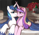coat drunk johnjoseco princess_cadance shining_armor table wine