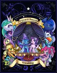 absurdres alts-art applejack fluttershy highres main_six pinkie_pie princess_cadance princess_celestia princess_ember princess_flurry_heart princess_luna princess_twilight rainbow_dash rarity shining_armor spike starlight_glimmer the_great_and_powerful_trixie thorax twilight_sparkle