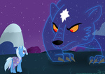 mikoruthehedgehog the_great_and_powerful_trixie ursa_minor
