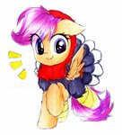 absurdres costume highres liaaqila scootaloo traditional_art turkey