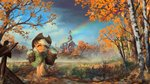 applejack apples autumn highres huussii scenery sweet_apple_acres