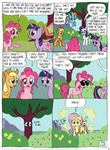 applejack comic fluttershy fluttertree kturtle main_six pinkie_pie rainbow_dash rarity species_swap tree twilight_sparkle