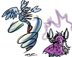 livestream lobster rainbow_dash species_swap spectralunicorn the_great_and_powerful_trixie