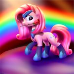 absurdres boots flowers highres ioverd pinkie_pie