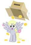 cardboard_box derpy_hooves dm29 gameloft gems transparent