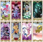 cannon flash_sentry gummy kairean king_sombra magic pinkie_pie queen_chrysalis shining_armor staff tarot the_great_and_powerful_trixie zecora