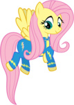 fluttershy highres maximillianveers transparent vector wonderbolts