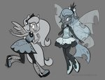changeling egophiliac equestria_girls humanized original_character princess_luna woonastuck