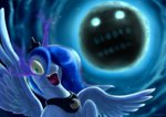 highres insanity moon princess_luna rautakoura