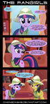 comic costume daring-do daringdashie highres rainbow_dash twilight_sparkle vector