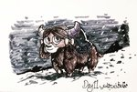 highres poecillia-gracilis19 snow traditional_art yona