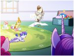 baby highres pinkie_pie pound_cake princess_cadance princess_flurry_heart pumpkin_cake toy zodiaczero