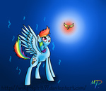 elements_of_harmony rainbow_dash wolf-spirit99