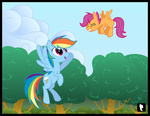 controlcore rainbow_dash scootaffection scootaloo