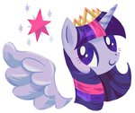 crown princess_twilight twilight_sparkle yousukou