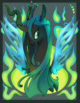 border nyausi queen_chrysalis