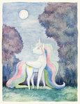 dahtamnay highres princess_celestia watercolor