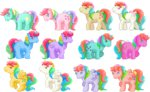 confetti_(g1) flutterbye g1 lowres moonstone parasol_(g1) pinwheel pixel_art sillycaracal skydancer starflower starshine sunlight_(g1) tickle_(g1) trickles windy