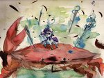 absurdres crab highres il-phantom magic needle rarity