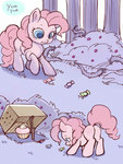 box candy comic cupcake filly highres noupie pinkie_pie trap