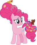 absurdres cloudyglow highres pinkie_pie vector