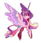 anime classical_unicorn frogbians highres princess_cadance