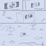 cardboard_box comic derpy_hooves gameloft itchymango