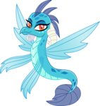 cloudyglow highres princess_ember seadragon vector