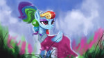 dress hierozaki highres rainbow_dash