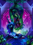 egg highres holivi original_character queen_chrysalis sci-fi