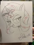 andy_price sunset_shimmer traditional_art