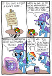 comic kturtle rainbow_dash rubik's_cube the_great_and_powerful_trixie