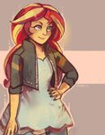 equestria_girls humanized sunset_shimmer xishka