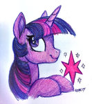 highres nessacity traditional_art twilight_sparkle