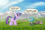 artist_unknown crossover gumball_watterson the_amazing_world_of_gumball twilight_sparkle