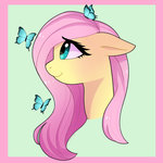 absurdres butterfly emera33 fluttershy highres