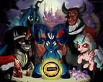 cozy_glow grogar king_sombra nancy-05 princess_twilight queen_chrysalis tirek twilight_sparkle