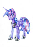 maytee princess_twilight traditional_art twilight_sparkle