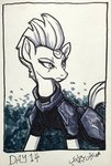 absurdres highres poecillia-gracilis19 tempest_shadow traditional_art