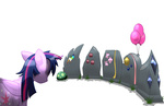 balloon oddwarg princess_twilight tombstone twilight_sparkle