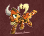 applejack armor costume elosande kento ronin_warriors