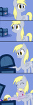 chest comic derpy_hooves dinky_hooves hugs poniker